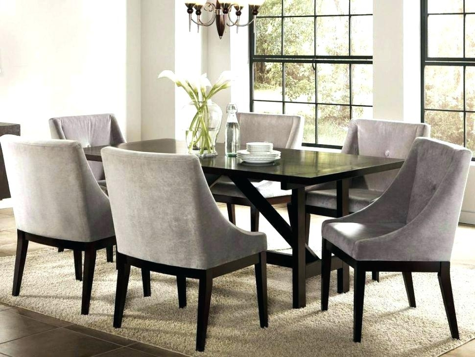 Dining Room Dining Room Chairs With Armrests Upholstered Dining With Beech Dining Tables And Chairs (Image 19 of 25)