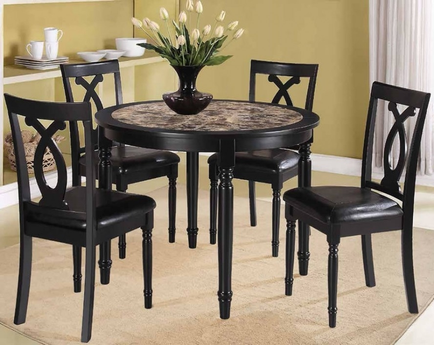 Dining Room Dining Table And Chairs For Small Rooms Compact Dining Pertaining To Compact Dining Sets (Image 14 of 25)