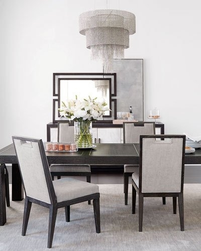 Dining Room Furniture At Neiman Marcus Pertaining To Delfina 7 Piece Dining Sets (Image 10 of 25)