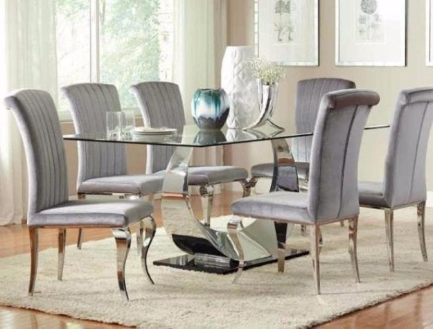 Dining Room Furniture – Bellagio Furniture And Mattress Store For Chrome Dining Room Chairs (View 11 of 25)