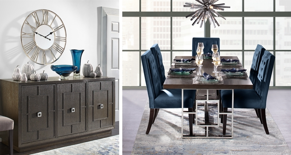 Dining Room Furniture & Elegant Dining Room Sets | Z Gallerie Inside Dining Table Sets (View 8 of 25)