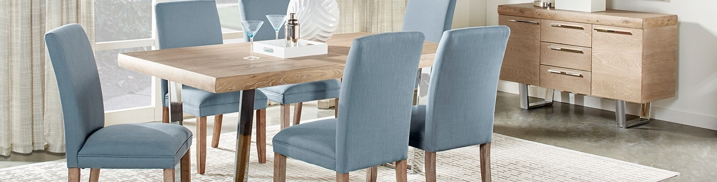 Dining Room Furniture: Formal & Modern Pieces And Sets Throughout Modern Dining Room Furniture (View 12 of 25)