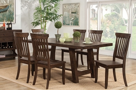 Dining Room Furniture In Hilo, Hi | Dining Room Tables For Lassen 5 Piece Round Dining Sets (Image 10 of 25)