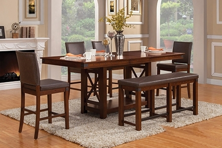 Dining Room Furniture In Hilo, Hi | Dining Room Tables Regarding Lassen 5 Piece Round Dining Sets (Image 11 of 25)