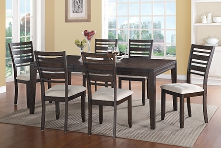 Dining Room Furniture In Hilo, Hi | Dining Room Tables With Regard To Lassen 5 Piece Round Dining Sets (Image 14 of 25)