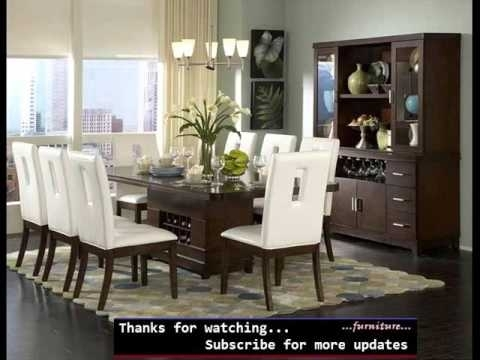 Dining Room Furniture Modern | Modern Dining Table Collection With Modern Dining Room Sets (Image 7 of 25)