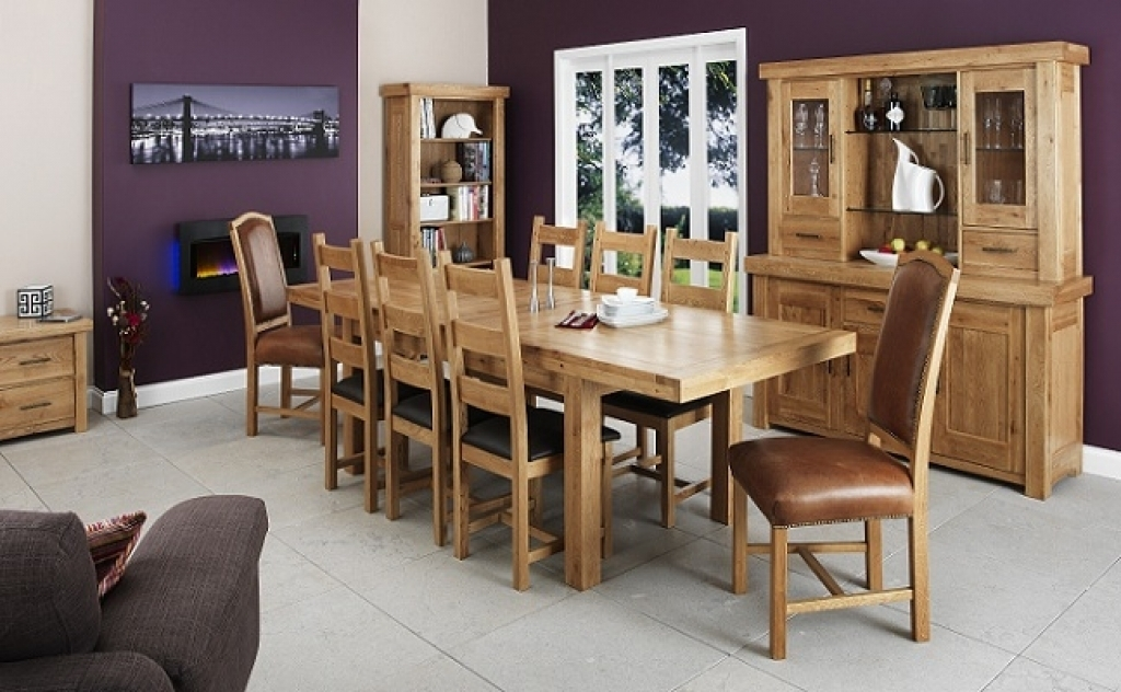 Dining Room Furniture Oak How To Care For A Solid Oak Dining Table In Light Oak Dining Tables And Chairs (Image 5 of 25)