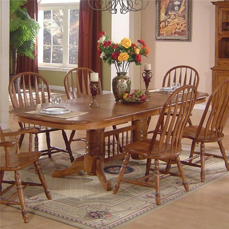 Dining Room Furniture Oak Mesmerizing Small Oak Dining Table Pertaining To Light Oak Dining Tables And Chairs (Image 7 of 25)