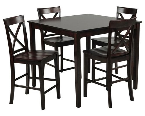 Dining Room Furniture Pertaining To Pierce 5 Piece Counter Sets (Image 5 of 25)