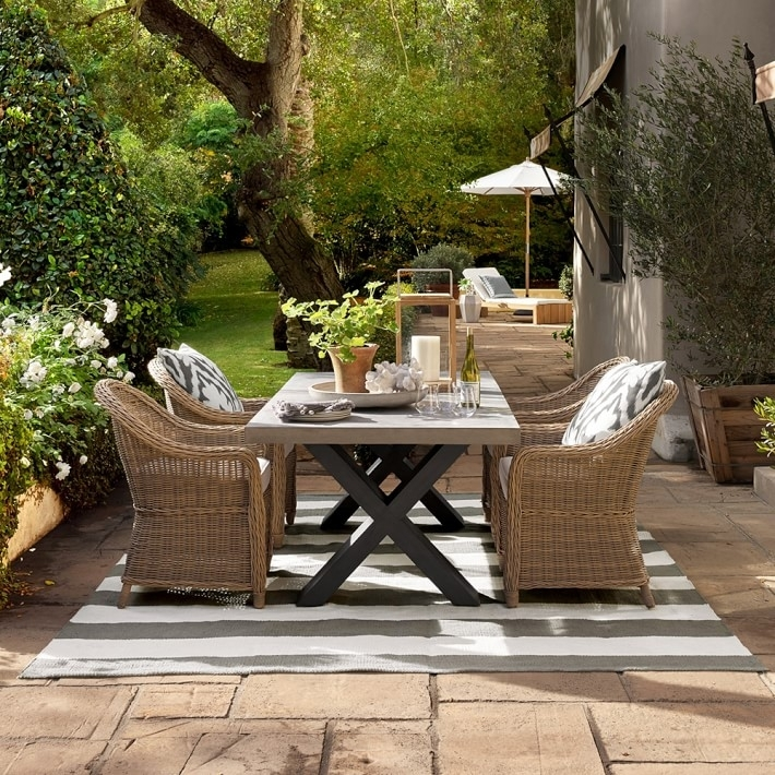 Dining Room Garden Furniture Dining Sets Round Garden Dining Table With Regard To Garden Dining Tables (View 11 of 25)