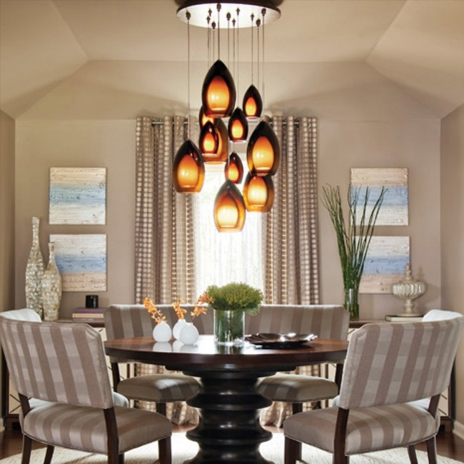 Dining Room Lighting – Chandeliers, Wall Lights & Lamps At Lumens Within Lighting For Dining Tables (Image 10 of 25)