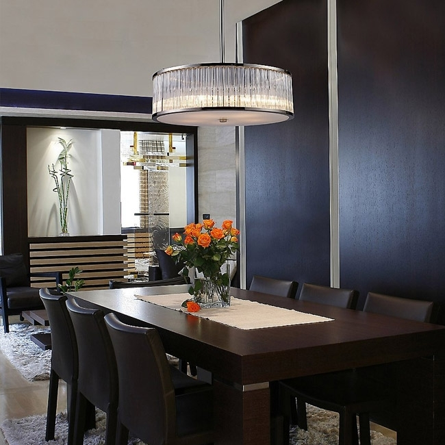 Dining Room Lighting – Chandeliers, Wall Lights & Lamps At Lumens Within Lights For Dining Tables (Image 10 of 25)