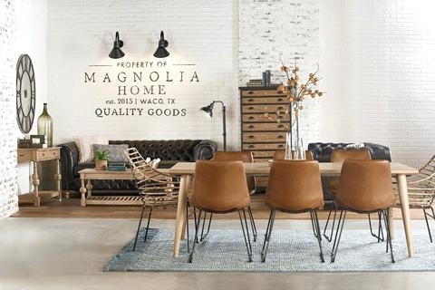 Dining Room Magnolia Home Table Keyed Trestle – Battenhall Regarding Magnolia Home Sawbuck Dining Tables (View 14 of 25)
