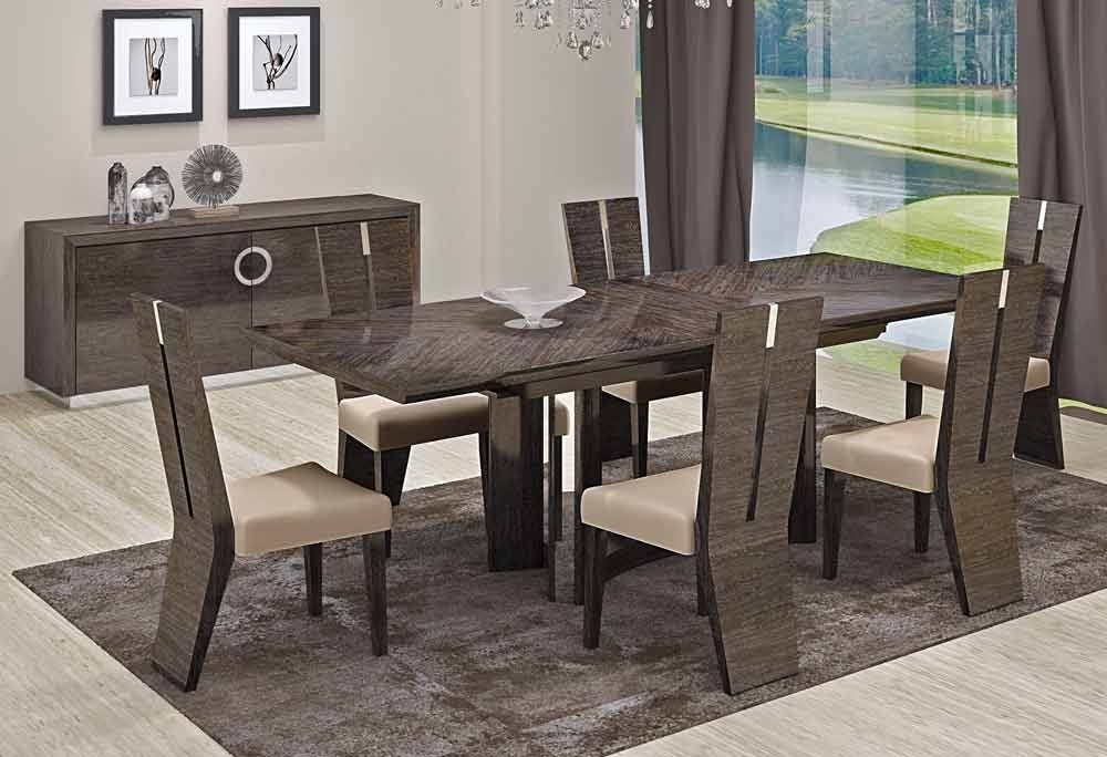 Dining Room Modern Dining Furniture Sets Contemporary Wood Dining In Contemporary Dining Sets (View 18 of 25)