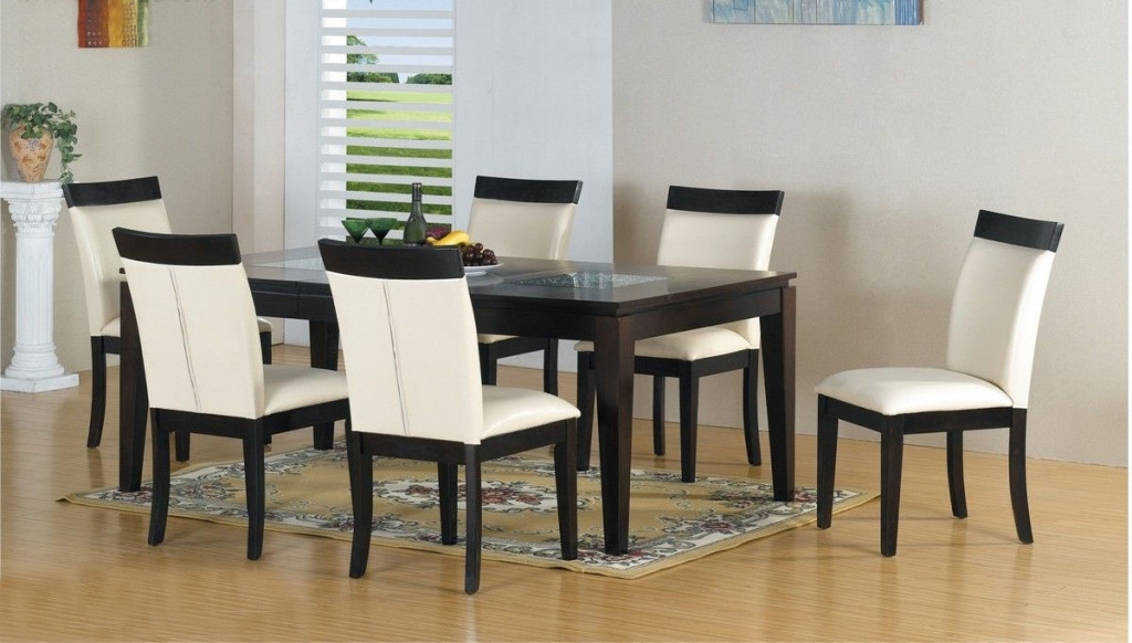 Dining Room Modern Kitchen Dinette Sets Modern Dining Room Table In Contemporary Dining Tables Sets (Image 12 of 25)