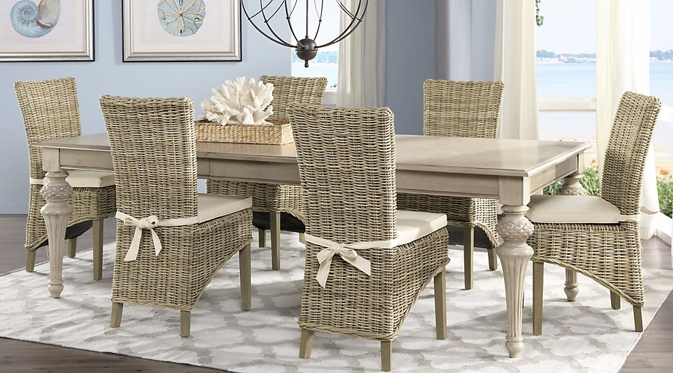 Featured Image of Rattan Dining Tables And Chairs