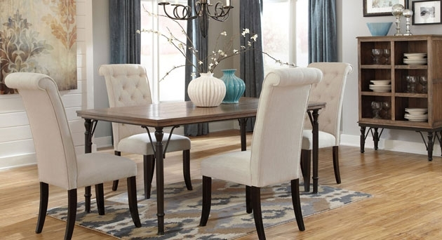 Dining Room Select Imports Furniture And Decor with regard to Craftsman 9 Piece Extension Dining Sets With Uph Side Chairs