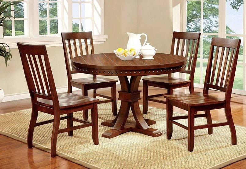 Dining Room Set : Corner Dining Table Dining Room Chairs Dark Wood In Dark Wood Dining Tables And Chairs (Image 17 of 25)