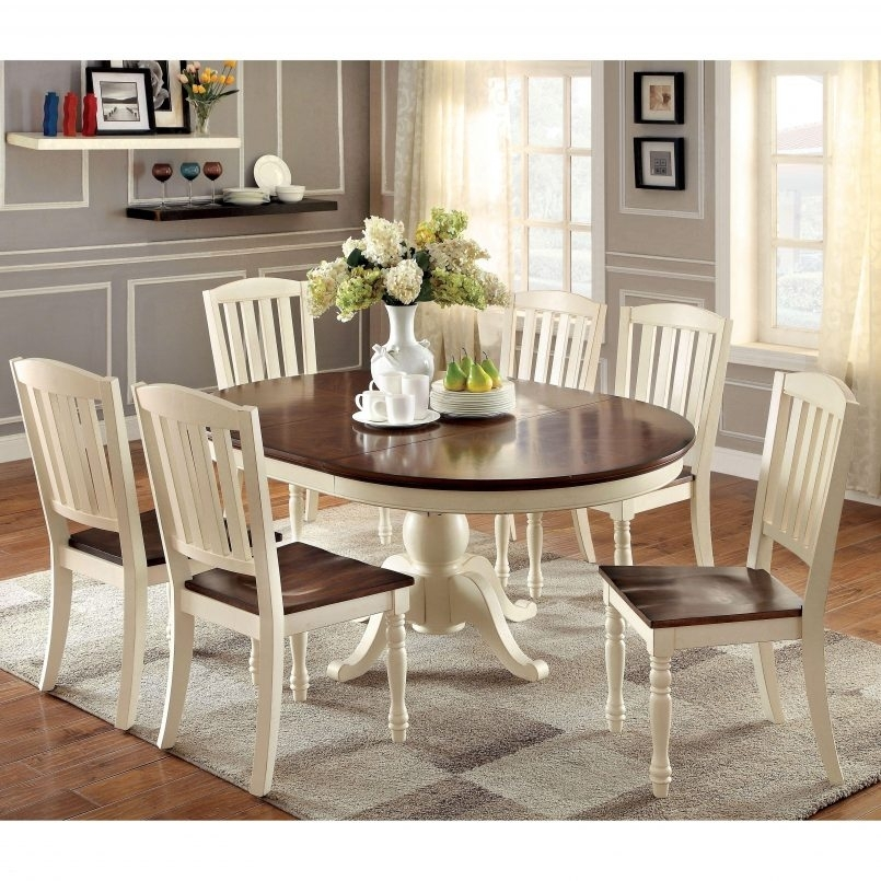 Dining Room Set : Small Oval Kitchen Table Oval Kitchen Dinette Sets In Kitchen Dining Sets (Image 11 of 25)