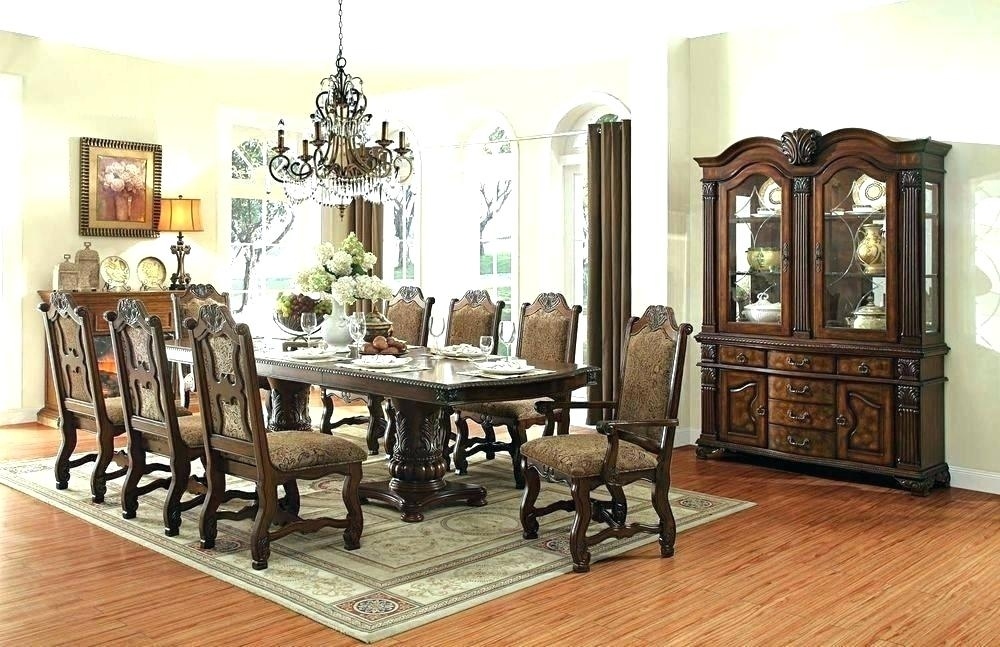Dining Room Set With Round Table Fancy Dining Room Sets Nice Set For Dining Tables Set For  (Image 15 of 25)