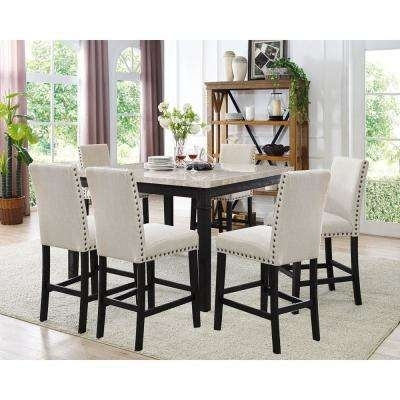 Dining Room Sets – Kitchen & Dining Room Furniture – The Home Depot Intended For Cheap Dining Tables And Chairs (View 23 of 25)