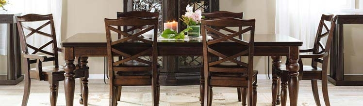 Dining Room Sets & Kitchen Furniture | Mathis Brothers With Regard To Pelennor Extension Dining Tables (Image 9 of 25)