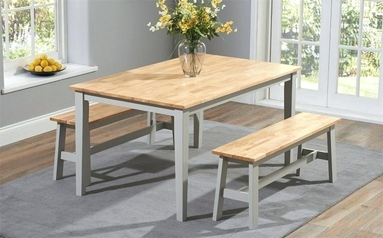 Dining Room Sets With Benches Interior Table And Bench Incredible With Regard To Small Dining Tables And Bench Sets (Image 10 of 25)