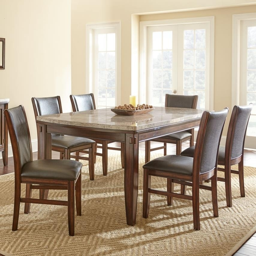 Dining Room Side Chairs | Snowmonkeymovie Pertaining To Market 6 Piece Dining Sets With Host And Side Chairs (View 6 of 25)