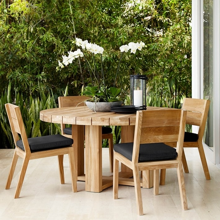Dining Room Small Garden Furniture Sets Round Table Garden Furniture Intended For Garden Dining Tables (View 16 of 25)