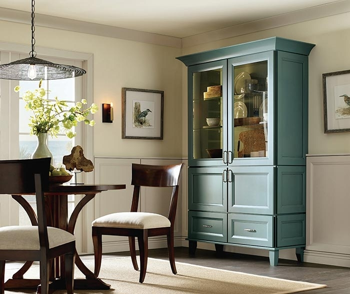 Dining Room Storage Cabinet – Diamond Cabinetry For Dining Room Cabinets (Image 14 of 25)