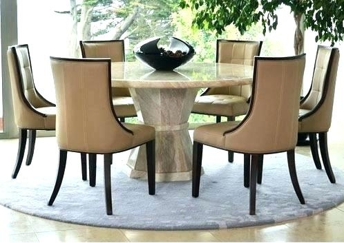Dining Room Table 6 Chairs Best Black Glass Extending Dining Table 6 For Round 6 Seater Dining Tables (Image 11 of 25)