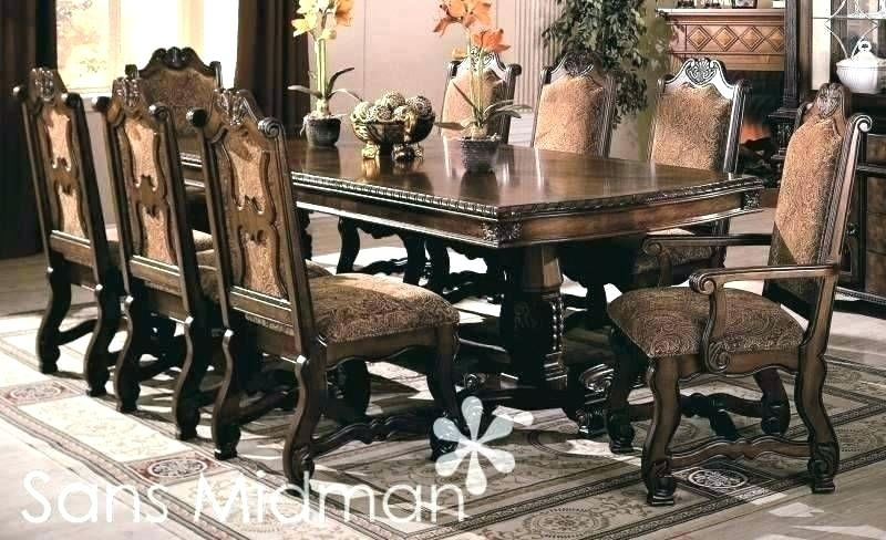 Dining Room Table 8 Chairs Click Images To Enlarge 8 Seater Dining With Dining Tables And 8 Chairs For Sale (View 9 of 25)