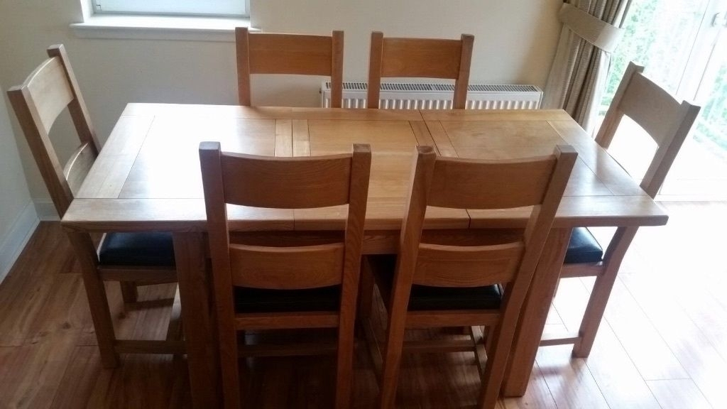 Dining Room Table And Chairs Gumtree Dining Table And Chairs Gumtree With Glasgow Dining Sets (Image 12 of 25)