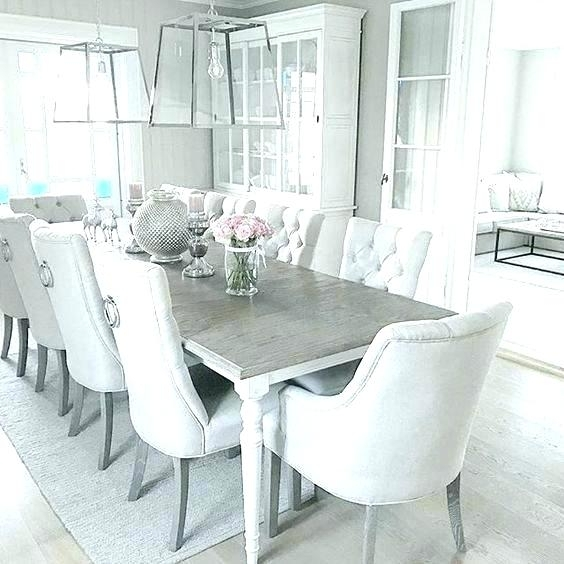 Dining Room Table And Chairs White Grey White Dining Room White pertaining to White Dining Tables Sets