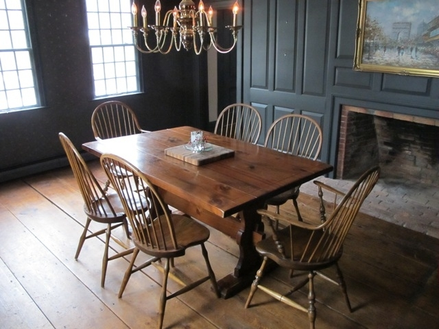 Dining Room Table ~ Confessions Of An Antique Home With Regard To Partridge Dining Tables (Image 6 of 25)