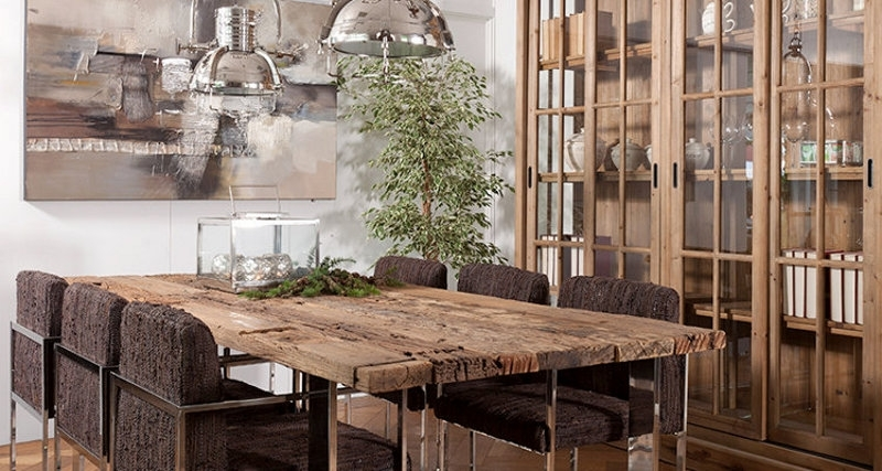 Dining Room Table | Creative Mind In Railway Dining Tables (Image 1 of 25)