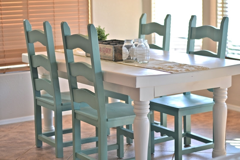 Dining Room Table Makeover. | Paddington Way (Image 14 of 25)
