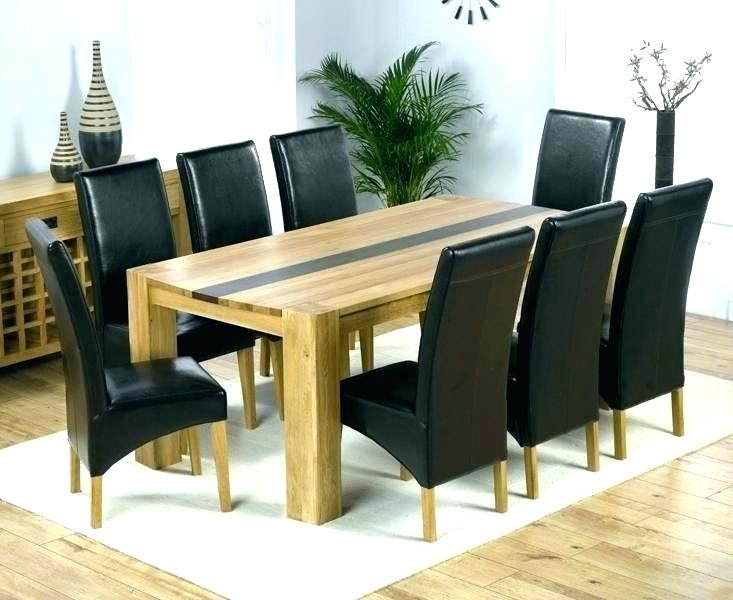 Dining Room Table Seats 8 – Buxenz Within Dining Tables And 8 Chairs (Image 9 of 25)
