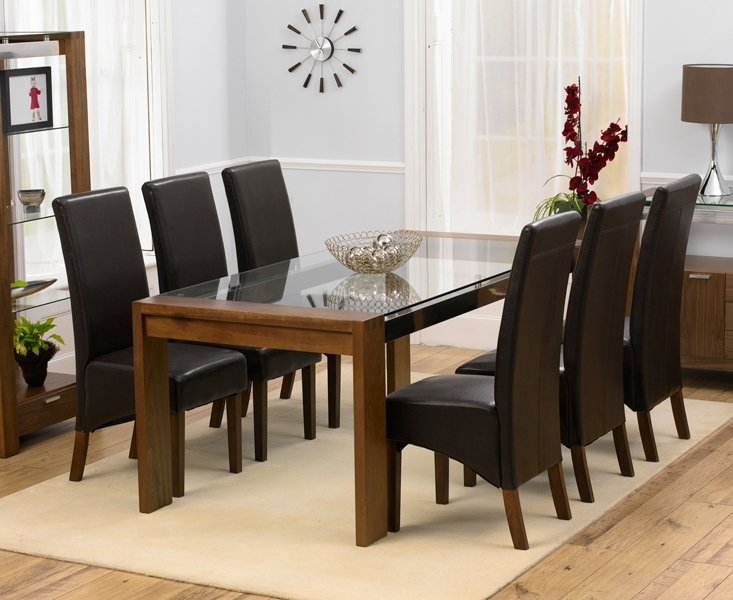 Dining Room Table With 6 Chairs – Dining Table Furniture Design Throughout Glass Dining Tables With 6 Chairs (Image 8 of 25)