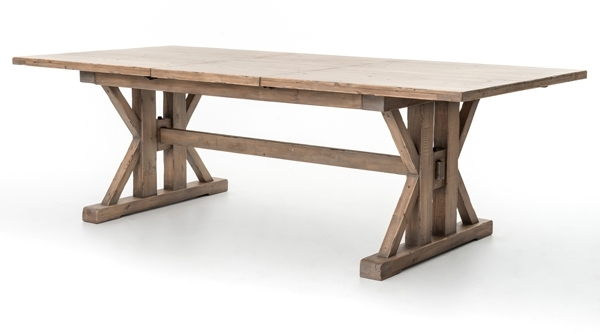 Dining Room Tables | Abt With Regard To Natural Wood & Recycled Elm 87 Inch Dining Tables (Image 4 of 25)