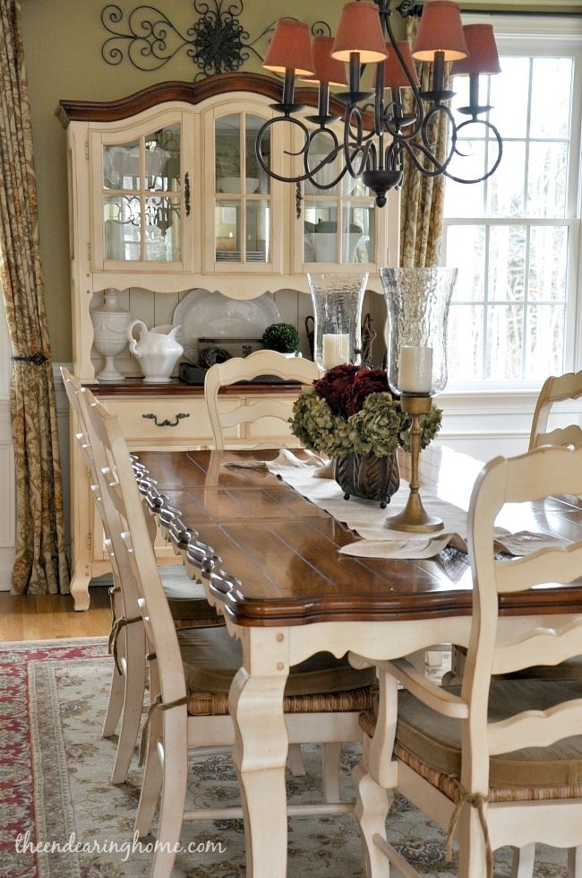 Dining Room Updates | French Quarters | Pinterest | Dining Room Throughout Country Dining Tables (Image 9 of 25)