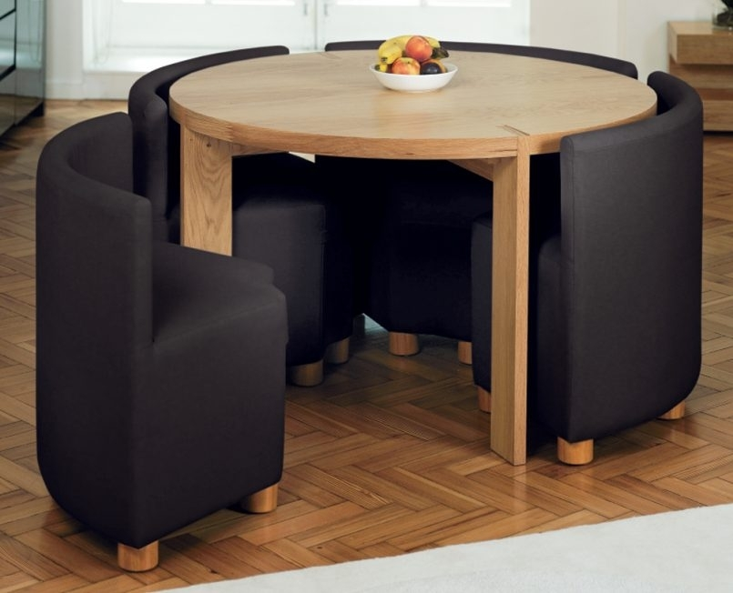 Dining Room Very Small Dining Table And Chairs Small Kitchen Dining Regarding Compact Dining Room Sets (View 17 of 25)