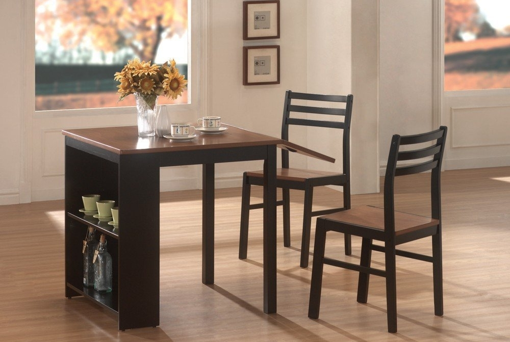 Dining Room Very Small Dining Table And Chairs Small Kitchen Dining With Regard To Compact Dining Tables And Chairs (Image 11 of 25)