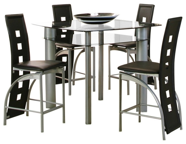 Dining Rooms > Counter Height | Furniture Plus, Delaware In Valencia 4 Piece Counter Sets With Bench & Counterstool (Image 8 of 25)