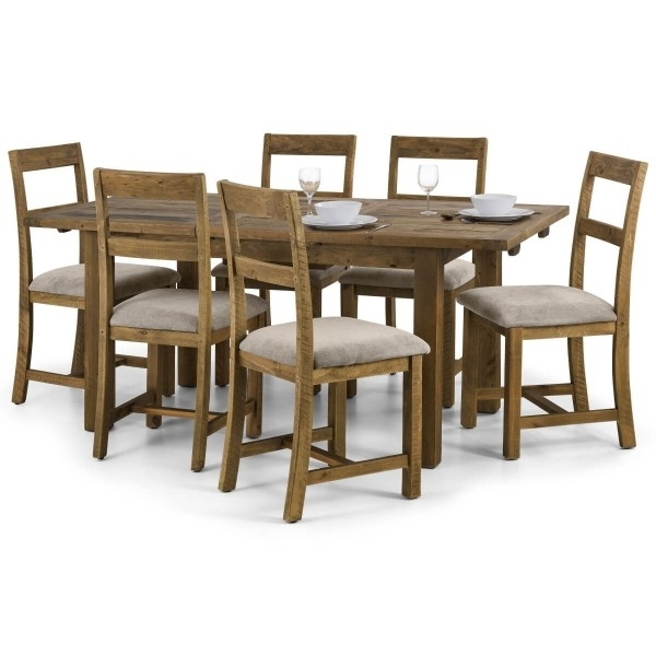 Dining Set – Aspen Extending Dining Table, 4 Chairs In Pine Asp016 Inside Aspen Dining Tables (Image 17 of 25)