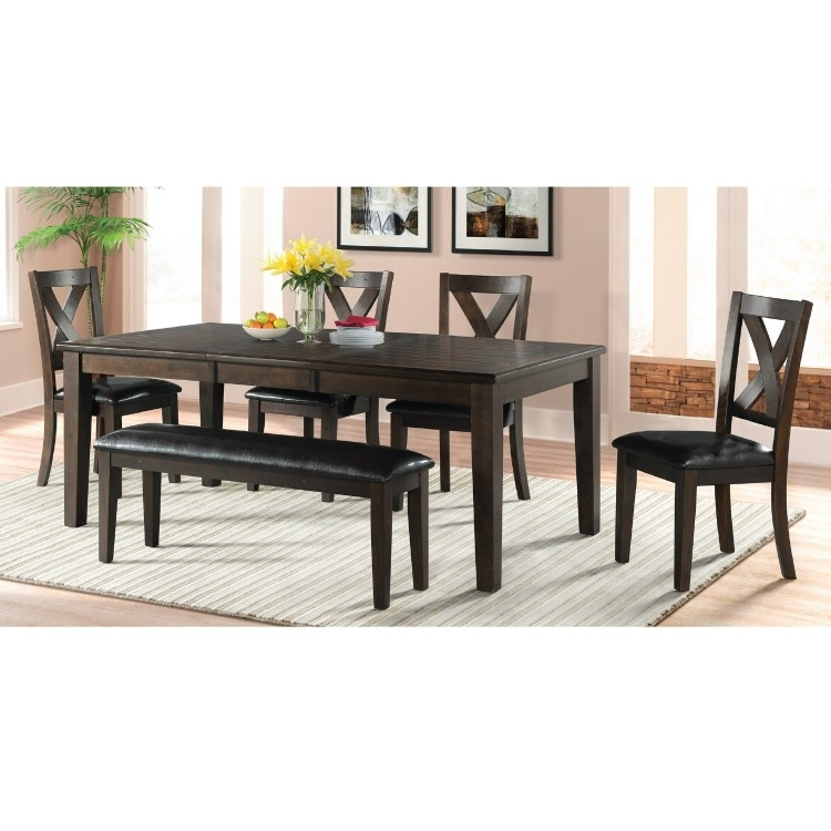 Dining Set | Elements Dcr100 | Lastman's Bad Boy With Regard To Walden 7 Piece Extension Dining Sets (Image 4 of 25)