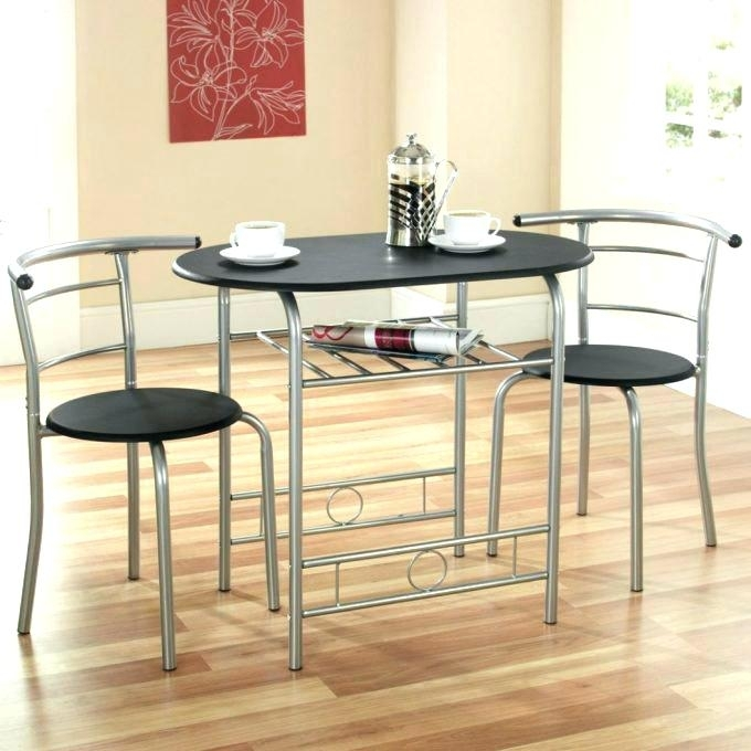 Dining Set For Two Table Nice Breakfast And Chairs For Two Compact intended for Two Chair Dining Tables