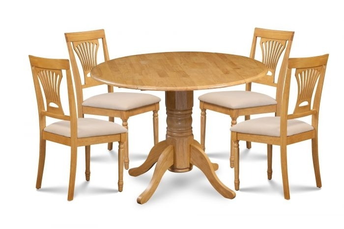 Dining Set | Perth Dining Set – 1 Round Dining Table And 4 Inside Perth Dining Tables (Image 7 of 25)