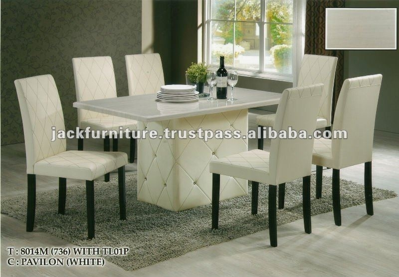 Dining Set,round Marble Top Diningtable,dining Room Sets – Buy Cheap Intended For Cheap Dining Sets (View 23 of 25)