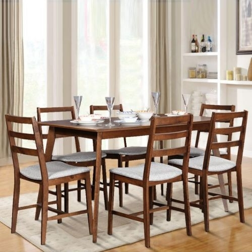 Dining Sets - Buy Dining Room Sets Online India - Hometown.in with regard to Delfina 7 Piece Dining Sets